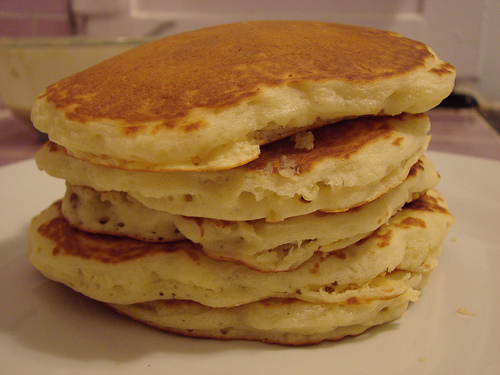 CALEES NARRATIVE: DELICATE FLUFFY PANCAKES