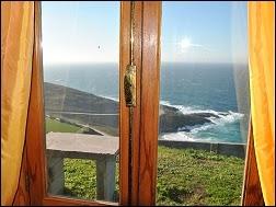 Bungalows Playa de Arnela, en Costa da Morte, Coruña, Carballo, Playa de Razo, Baldaio, Cabañas de madera, vistas al mar, casas de alquiler de vacaciones en Galicia