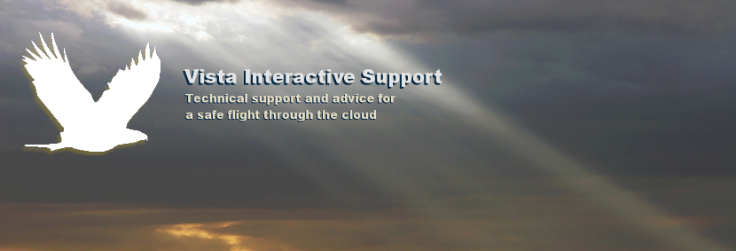 Vista Interactive Support