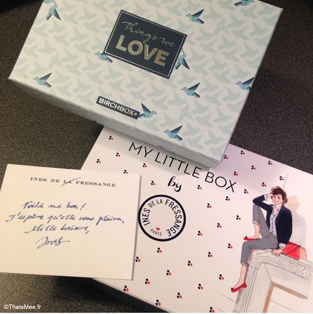 My Little Box et Birchbox Saint-Valentin 2014 things we love Ines de la Fressange