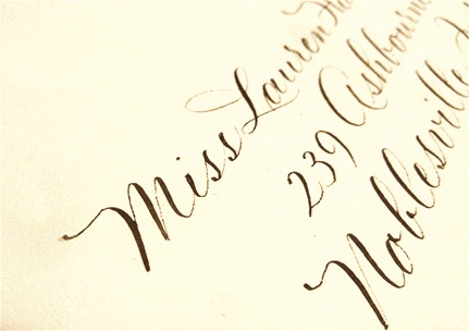 Why Should I Hire A Calligrapher Wedding Calligraphy By