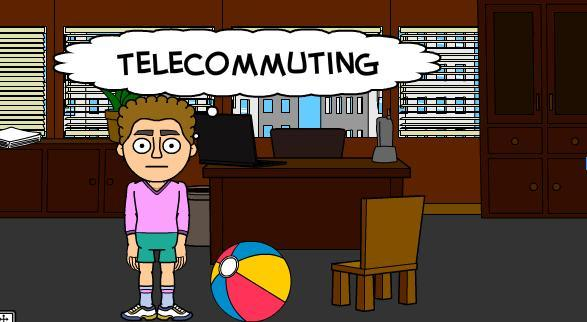 the good and bad of telecommuting Telecommuting: the good, the bad and the lazy by mikel king recently marissa mayer the ceo of yahoo passed the proclamation ending telecommuting at the company.