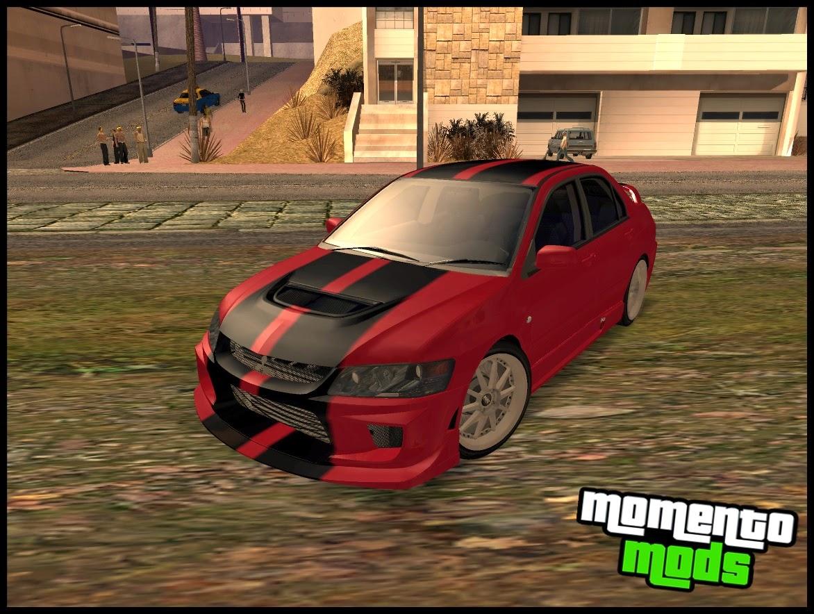 GTA SA - Lancer Evolution