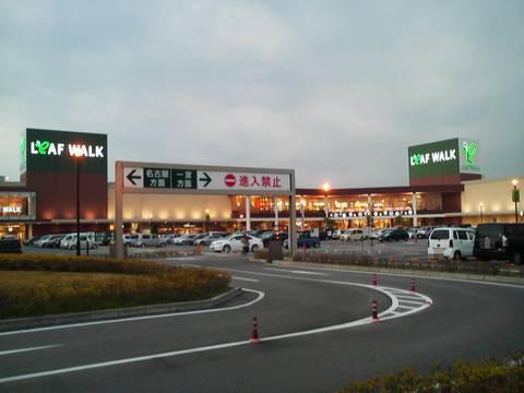 リーフウォーク外観 ピアサピド稲沢店6回目