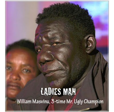 William Masvinu is ugliest man in zimbabwe