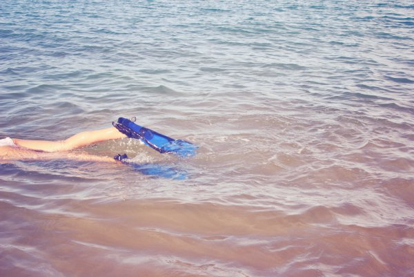 snorkeling at ulua