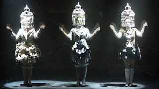 Llio Evans, Georgina Stalbow and Susanne Holmes in The Mikado, Co-Opera Co, 2013