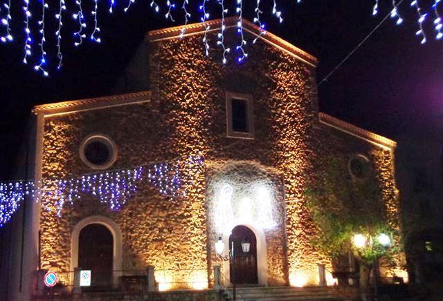Chiesa Madre illuminata