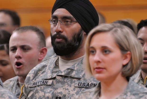US Military Relaxes Rules On Religious Beards, Tattoos, And Turbans