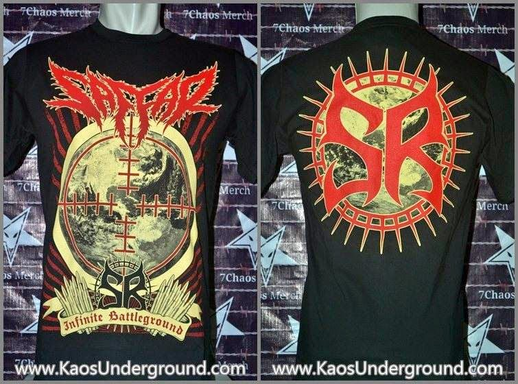 band saffar kaosunderground.com 7chaos merch heretic