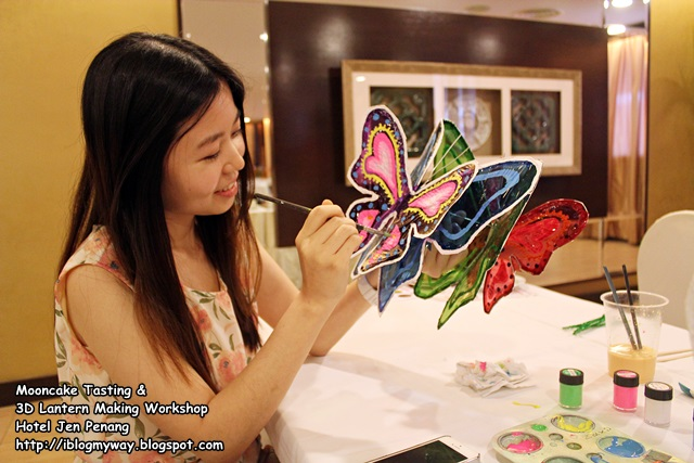 Mooncake Tasting & 3D Lantern Making Workshop @ Hotel Jen Penang