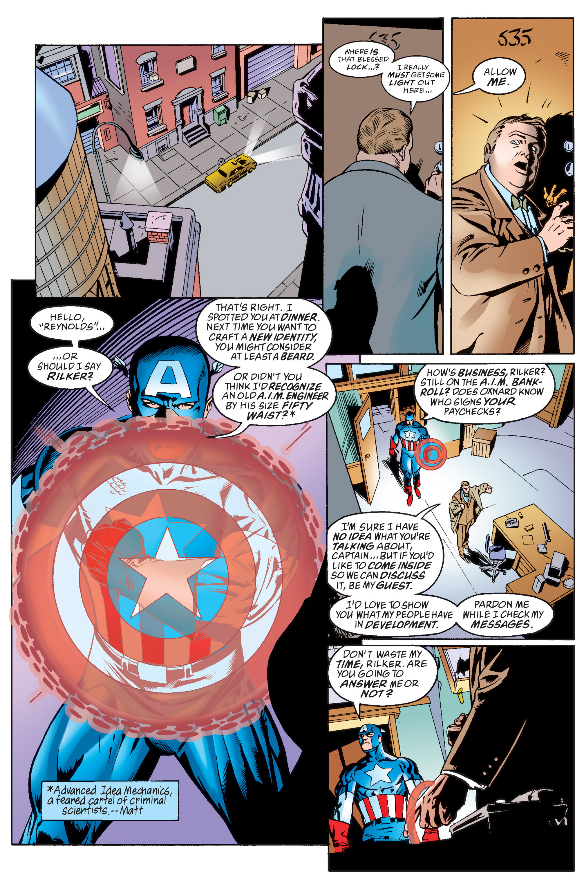 Captain America (1998) Issue #13 #19 - English 9