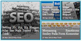 Slideshow Featured Post Menarik dengan CSS dan jQuery