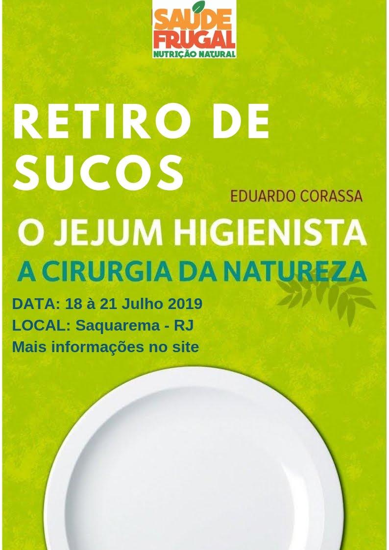 RETIRO JEJUM DE SUCOS