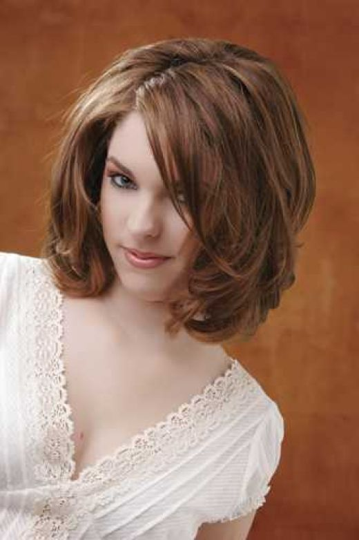 Medium Romance Hairstyles