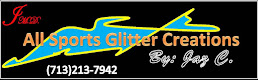 Click on the image for our Sports Glitters Fan Wear!
