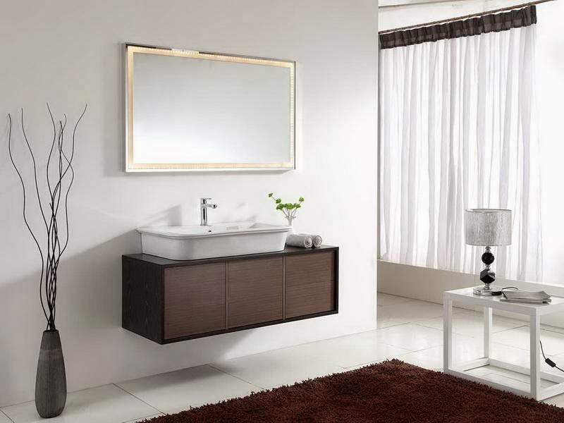 Small bathroom vanities bedroom and bathroom ideas for Double vanity for small bathroom