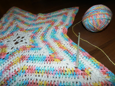 A Dash Of Sparkle Crochet Baby Star Blanket