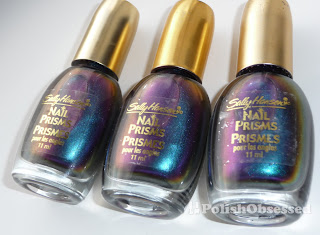Sally Hansen Nail Prism Orange Opal Left C Amber Right Colour Description Both Are Very Similar That Is Why I Listed Them Together