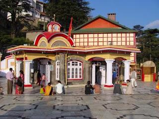 tara devi temple in Himachal province