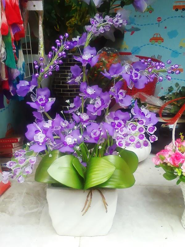 Kết quả hình ảnh cho làm hoa lan voan