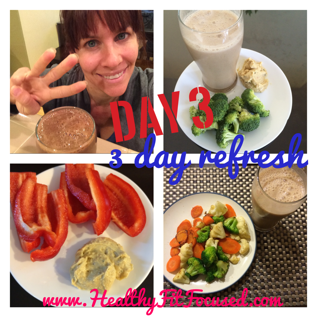 3-day refresh, www.HealthyFitFocused.com