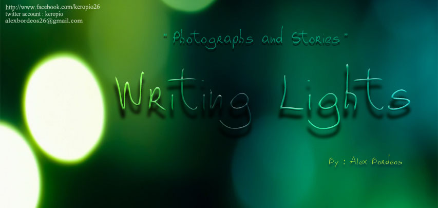 Writing Lights
