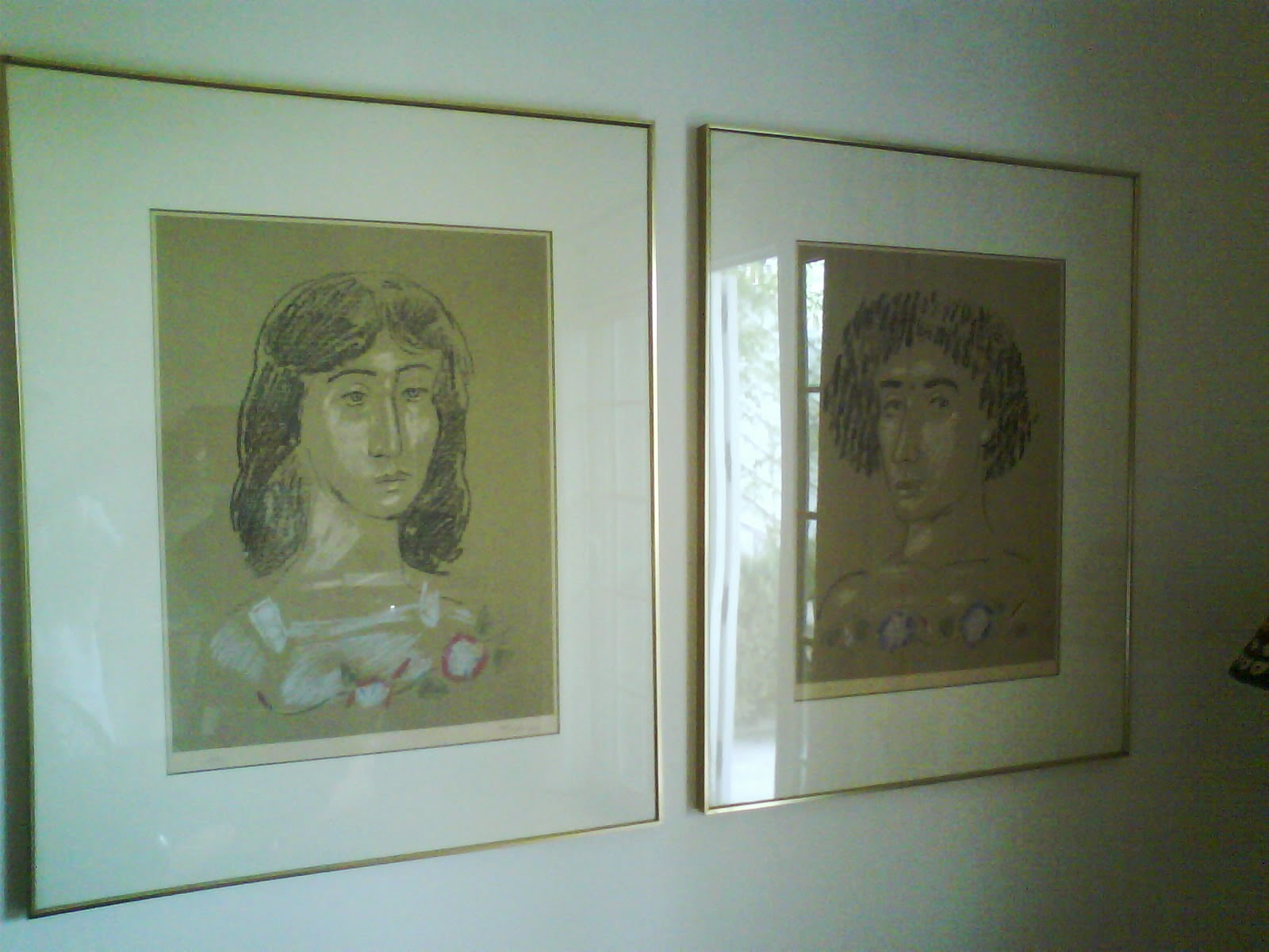 Tsarouchis lithographs.