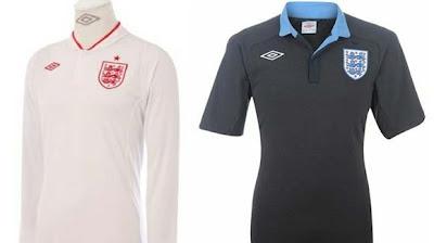 Jersey / Seragam Inggris EURO 2012
