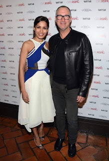 Freida Pinto hosts Pre-Oscar Party