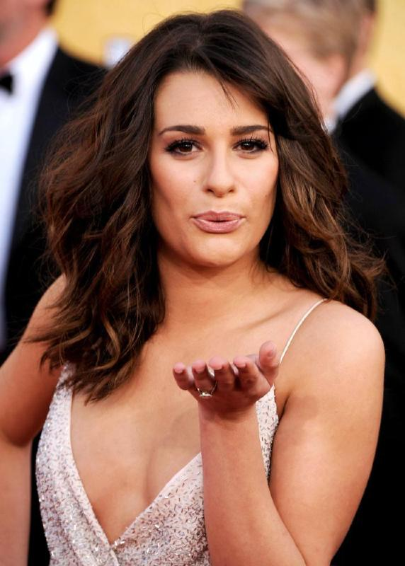 Gabriella Rose  Lea_michele_2011_sag_awards_4