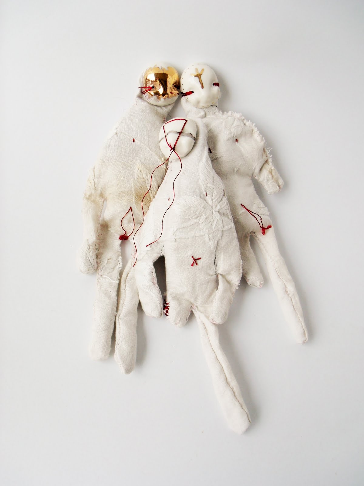 The Removing of the Veil, dolls, 2016
