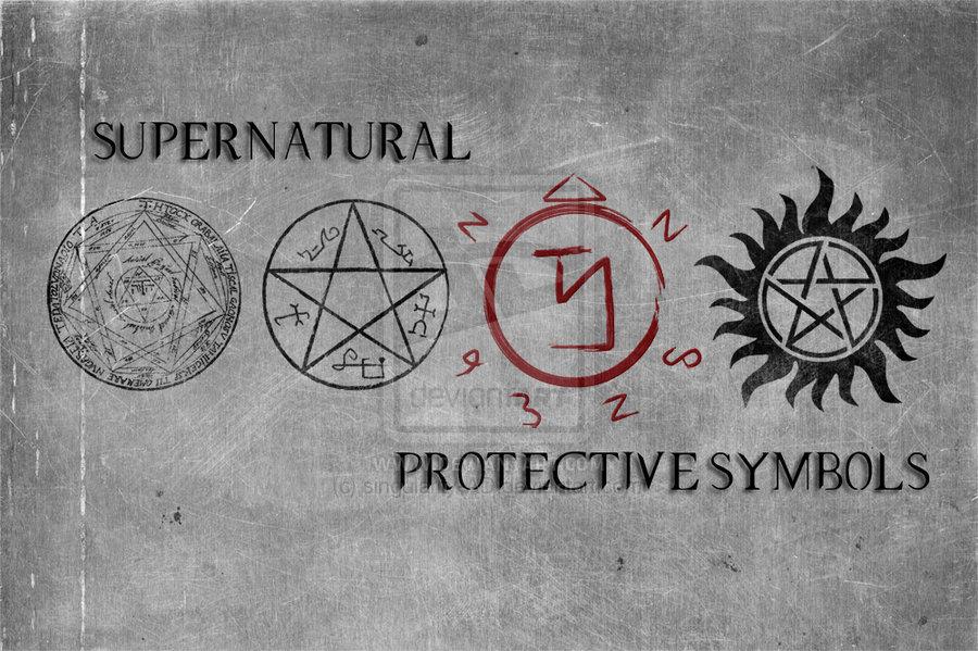 Forasteiro Tattoo: Super Natural Simbolo Coletânea