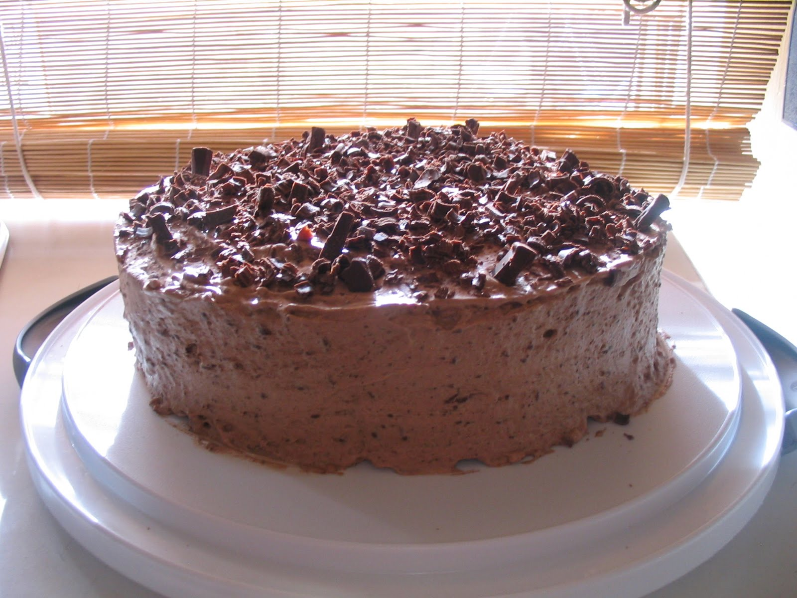 Barefoot in the Kitchen: Irish Cream Chocolate Mousse Cake