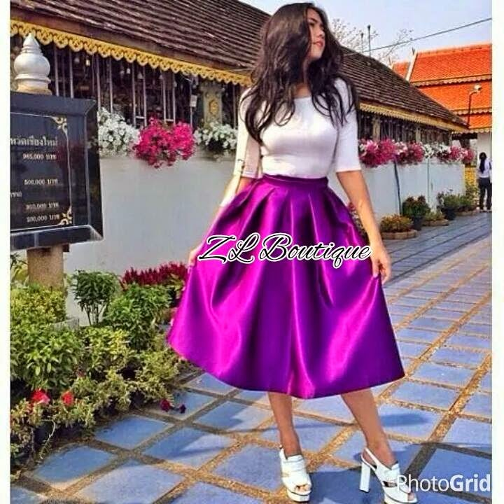 FLARED SKIRT PENDEK