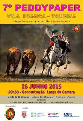 Programa da 26ª semana da cultura taurina em Vila Franca de Xira