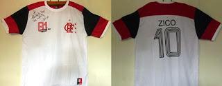 A camisa 10 do Zico