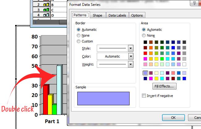 Cara Membuat Garis Grafik pada Microsoft Word