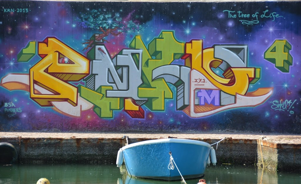 Graffiti Rimini blocks