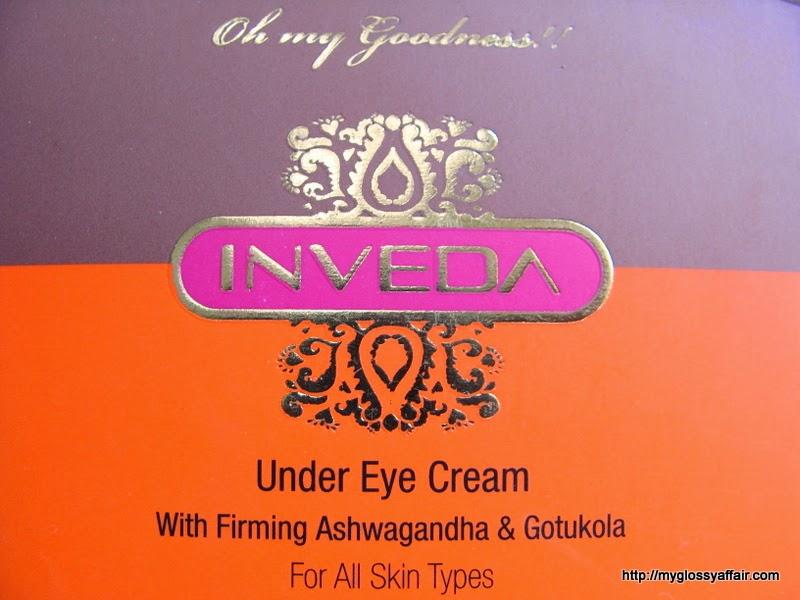 Inveda Under Eye Cream Review