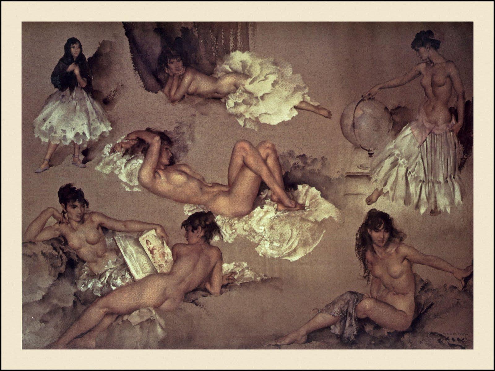 Эротика в рисунке и живописи 4 фотография