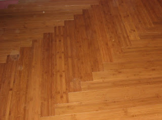 Beautiful Bamboo In A Herringbone Pattern