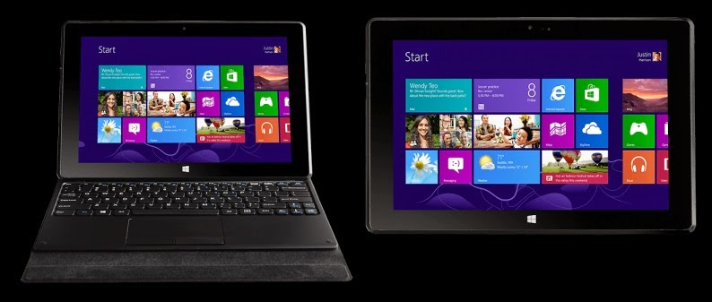 MSI S100 Hybrid Laptop dan Tablet