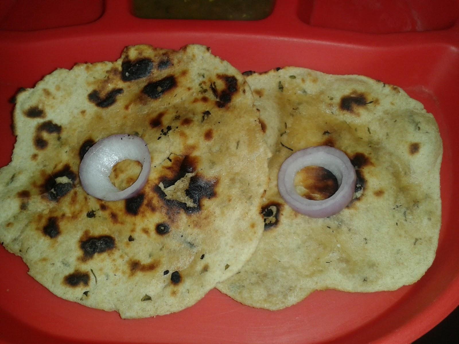 how to make tandoori roti in cooker