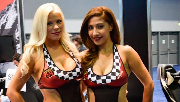 Chicas juego neumaticos E3 2014