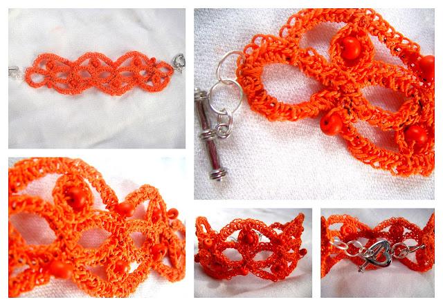 bracciale uncientto - crochet bracelets