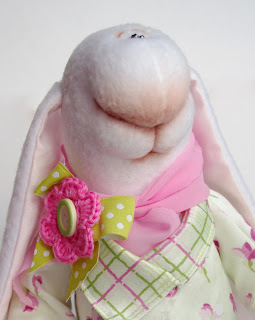 МК по вязано-валянному мишке