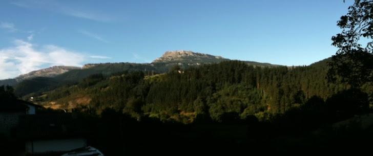 Panoramica Lekanda y Gorbeia