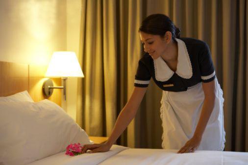 Operatividad hotelera for Trabajo de camarera de pisos