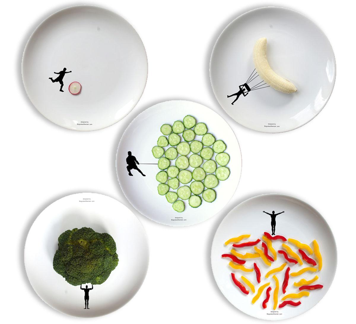 New Sport Dinner Plates For Interactive Food Fun By Designer Boguslaw Sliwi?ski.  sc 1 st  Super Bowl Update - Blogger & Super Bowl Update: New Sport Dinner Plates For Interactive Food Fun ...